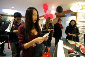 Adjunct faculty receive Valentine's gift
