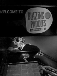 Blazing Paddles:  pingpong on Lansdowne