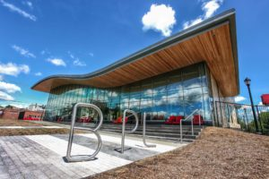 Library branch uses sustainable architecture