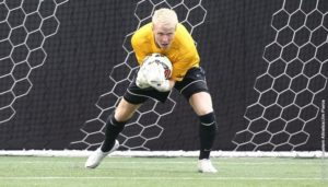 Soccer wins conference game at Charleston