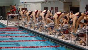 NU diving team sweeps UNH