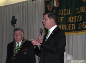 Walsh visits Ireland, aids socioeconomic ties