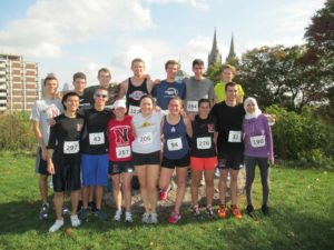 Northeastern students claim first place in Mission Hill Road Race