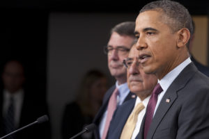 Obama and Merkel hold press conference to discuss Ukraine
