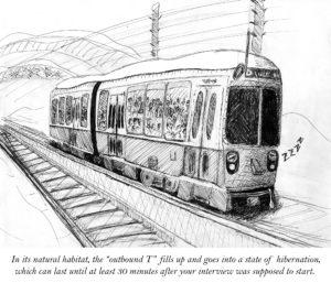 Cartoon: MBTA recovery a slow process