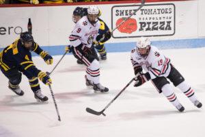 Husky season ends against Merrimack