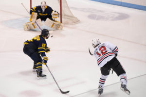 Hockey loses in first round