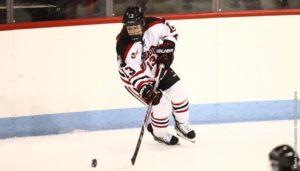 Women's hockey falls to BU