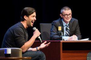 Comedian Josh Peck visits NU