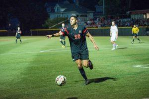 NU men's soccer goes into double OT against Fairfield