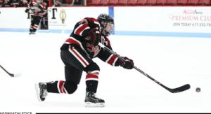 Women's hockey opens season with 9-5 win