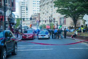 Shooting incident closes Huntington