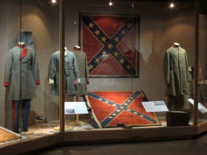 The Confederate flag is a symbol of a racist nation