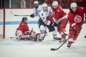 Hockey pummels Simon Fraser in exhibition match, 10-2