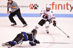 Bentley completes sweep of hockey in weekend series