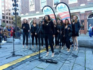 A cappella groups fill Faneuil Hall