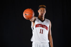 Freshman big man eager to succeed