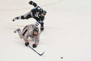 Hockey pummeled by Providence, 0-3