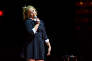 Amy Schumer draws crowd at Northeastern