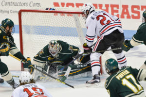 Hockey loses to UVM, 2-3