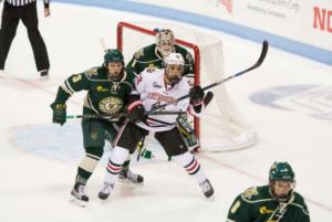 Hockey ties Vermont in OT