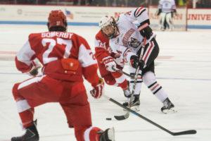 BU sweeps men's hockey