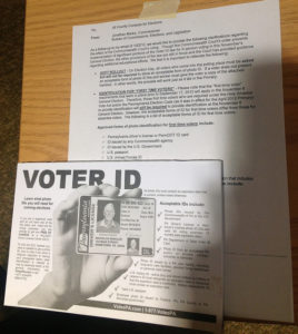 Voter ID laws unnecessary