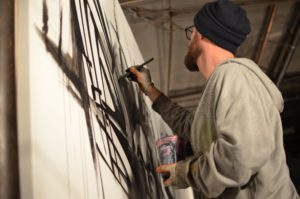 Intercity graffiti battle puts artists to the test