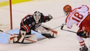 Men's hockey falls in Beanpot semis