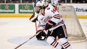 Men's hockey sweeps Amherst, continues hot streak
