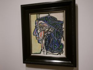 Picasso interprets different human body forms