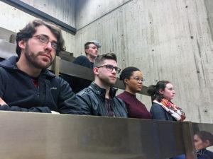 SAID slams NUPD gun policy at city hearing