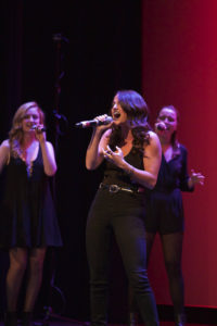 A cappella groups merge music and dance