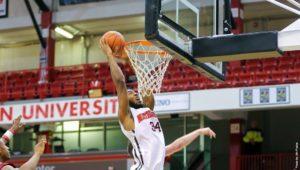Men's basketball locks up 6 seed in CAA