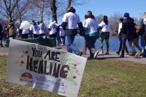 Thousands walk to fundraise for sexual assault