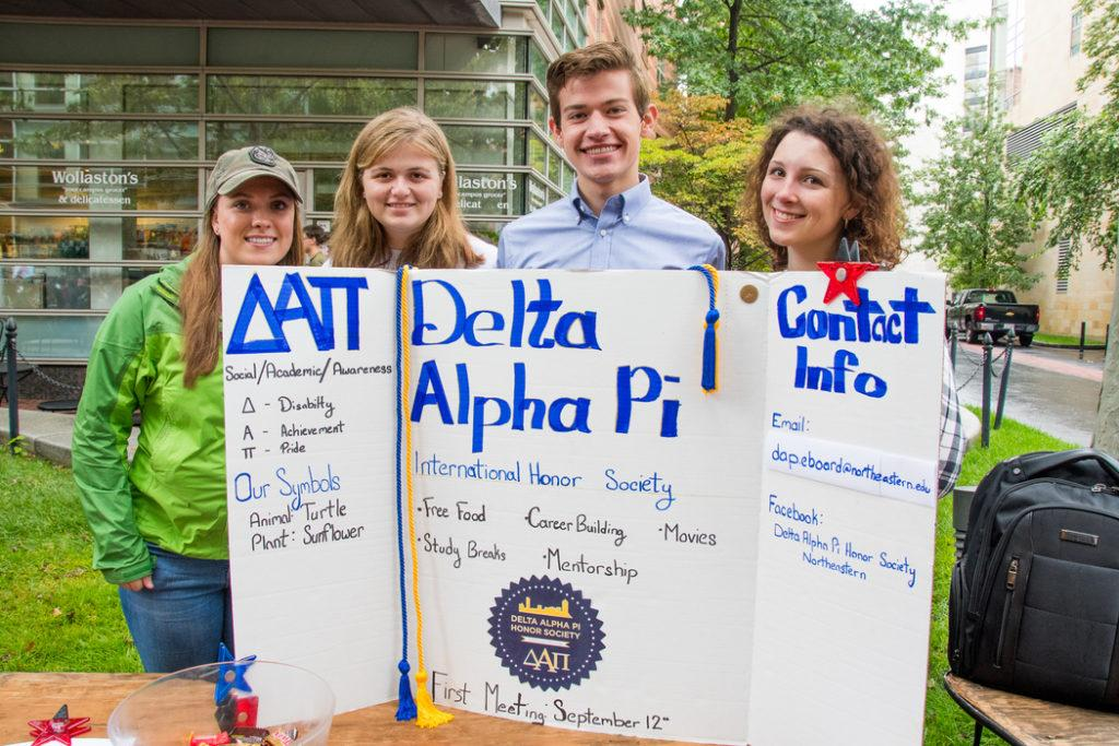 Delta Alpha Pi (DAP) brings disability advocacy to campus and the community by recognizing the achievements of its members and visiting local schools.