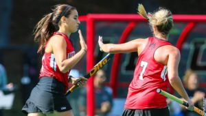 Northeastern field hockey celebrates alumnae