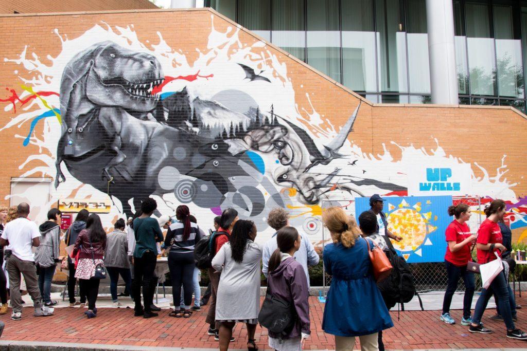 New+mural+unveiled+at+Behrakis