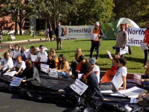 DivestNU promises to escalate campaign