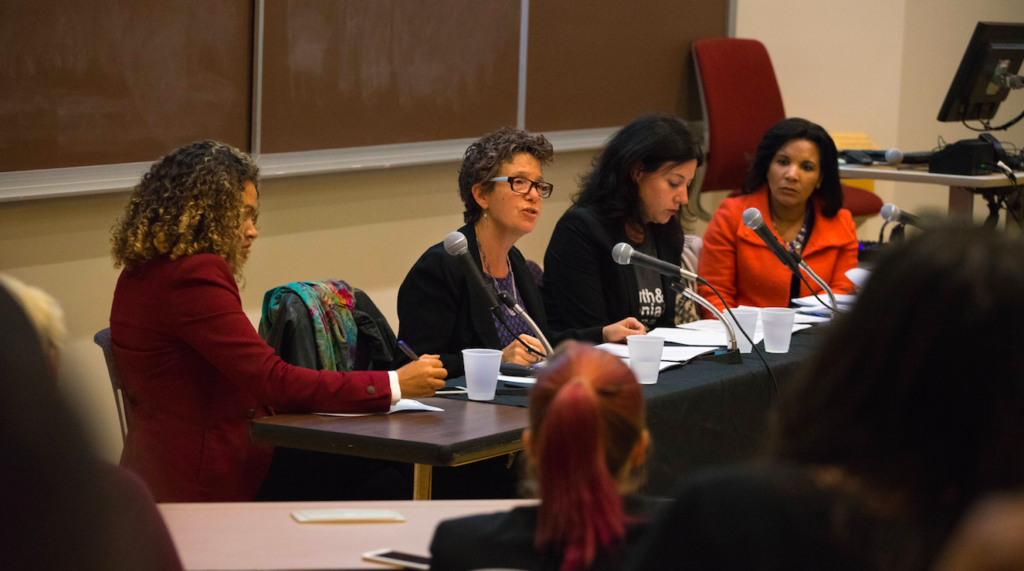 Panel focuses on topics of gender, race in 2016 election