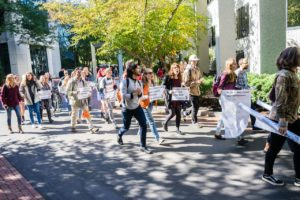 DivestNU delivers faculty letter to provost's office