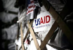 Letter: International aid as a response to national discouragement