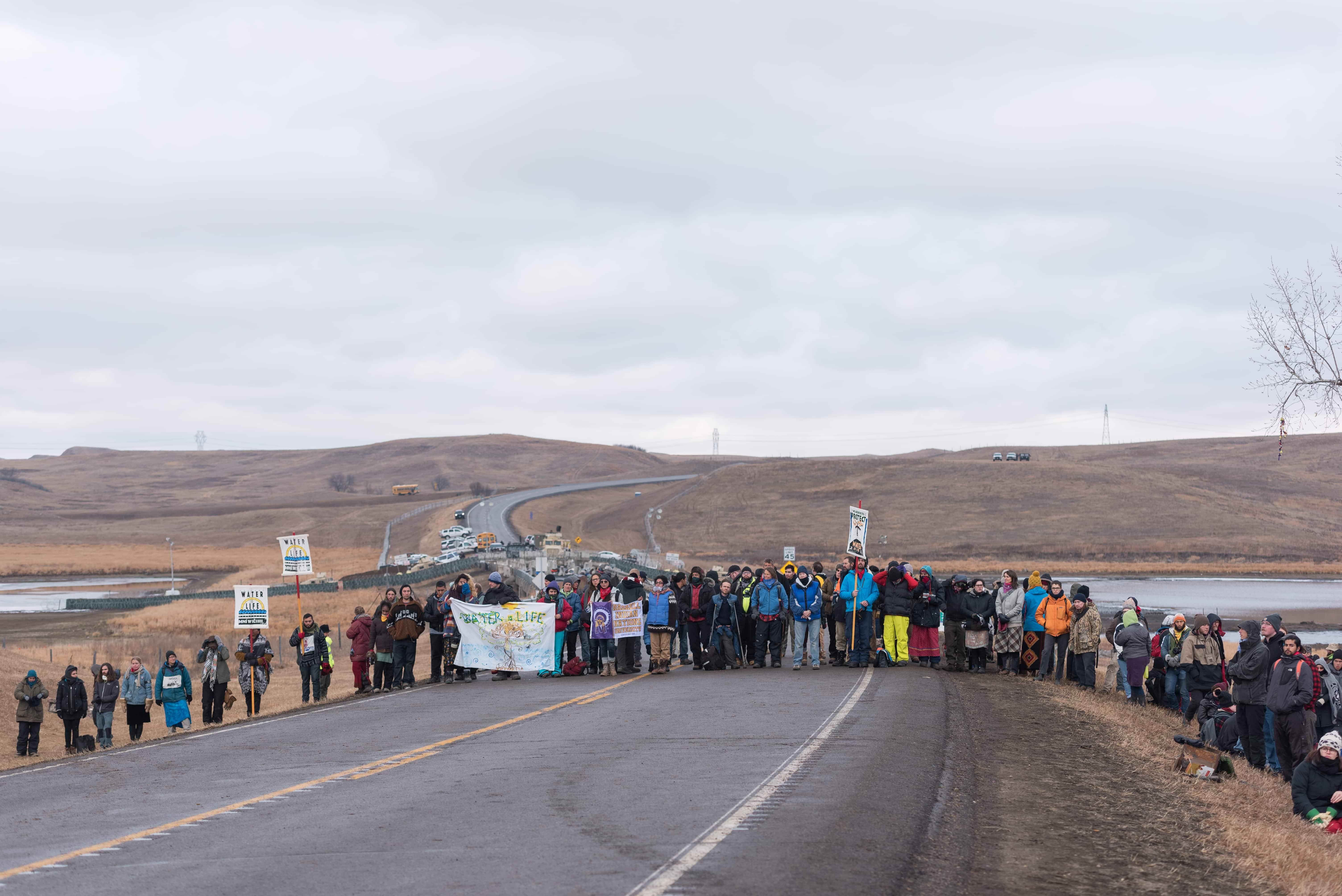 Northeastern students volunteer at Standing Rock reservation