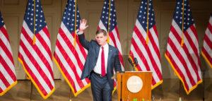 Walsh unveils anti-displacement legislative package