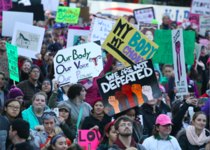 More than 175,000 rally at Boston Women's March