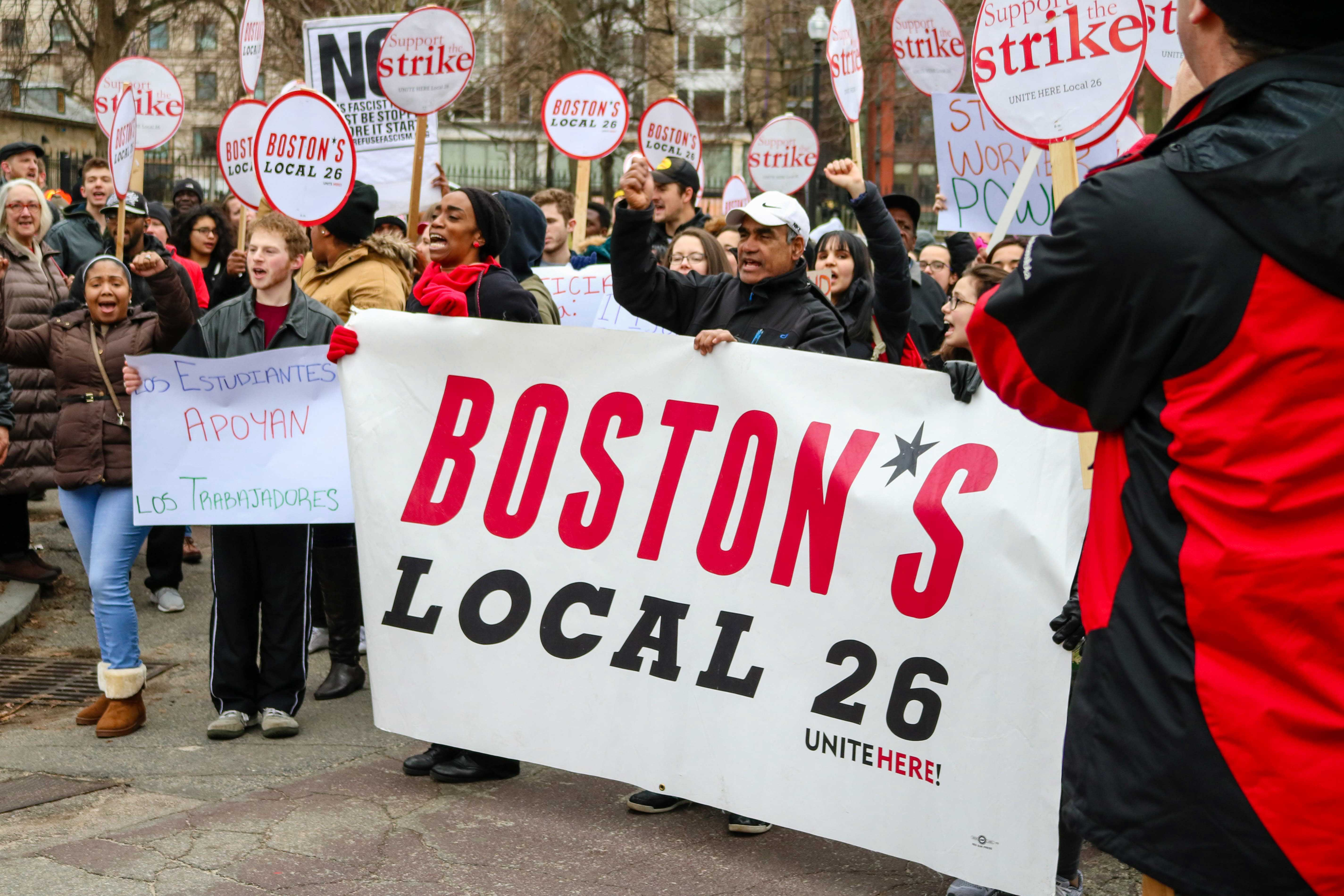 Boston%27s+Local+26+rallies+at+the+Commons+to+show+their+support+for+worker%27s+rights.