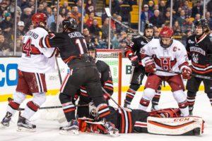 Men's hockey Beanpot comeback falls short at the Garden