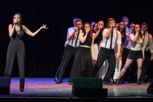 Downbeats and Treble Conclude ICCA Northeast Quarterfinals