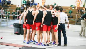 Distance medley relay team sets school record