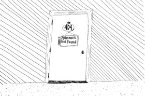 Cartoon: Where is Apartment 404?
